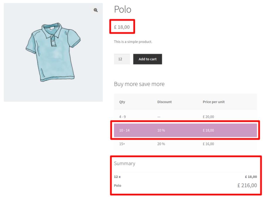 ürün fiyat tablosu (pricing table) eklentisinin uygulanmış olduğu ekran görüntüsü