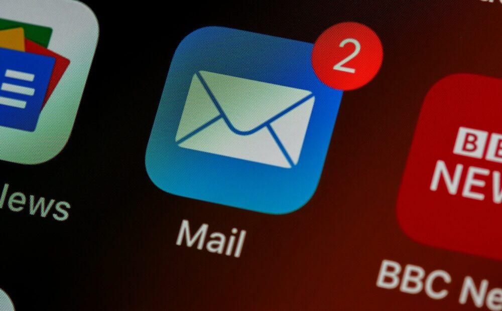 e-posta gönderimini temsil eden fotoğraf