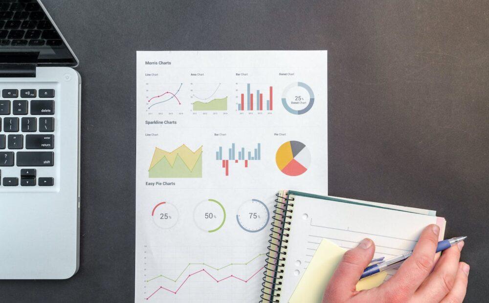 yeniden hedefleme ile e-ticaret satış raporunu temsil eden fotoğraf